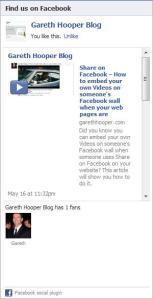 Facebook Like Box Social Plugin