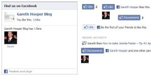 Facebook Social Plugins Overview part 1 of 3